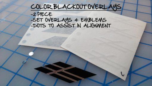 V-series Overlay (Blackout)