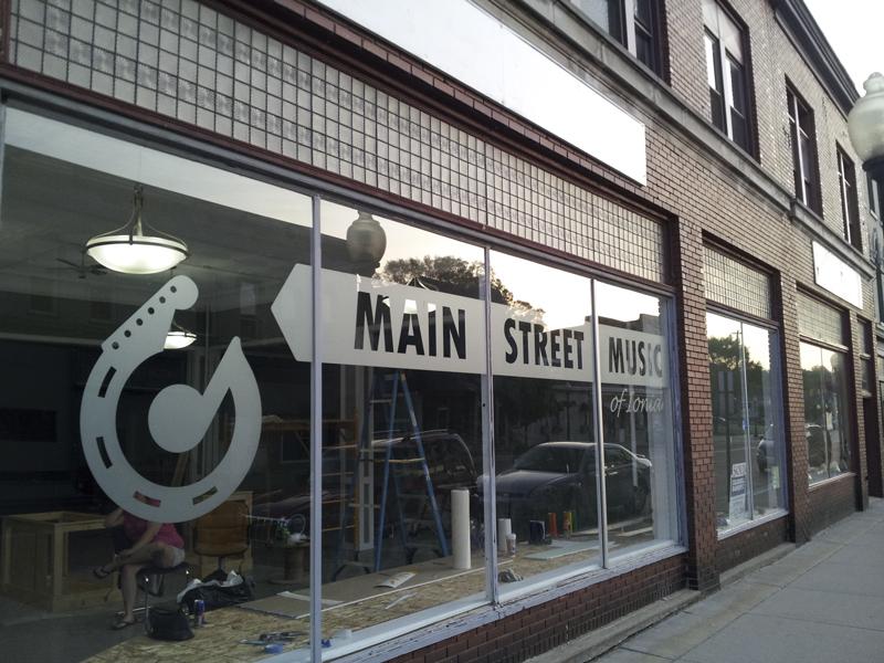 Storefront - Main Street Music of Ionia