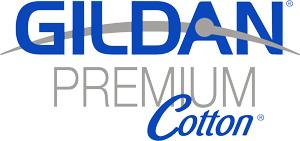 Gildan Premium Cotton Logo