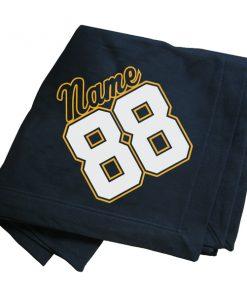 Stadium Blanket Personalization